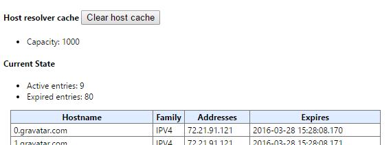 google-dns-cache
