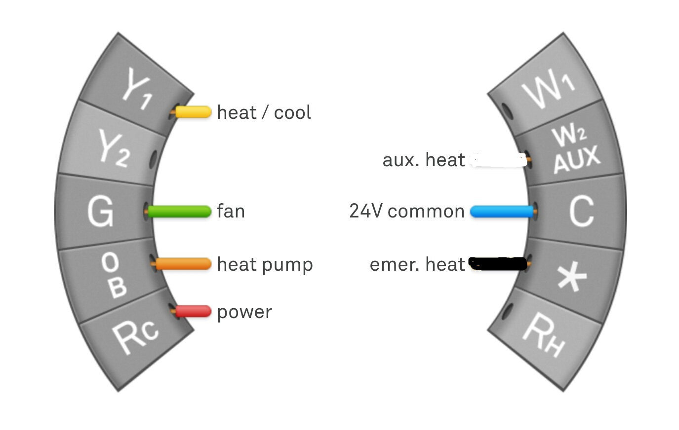 Nest Thermostat Wiring Diagram Heat Pump - Wiring Diagram Home on