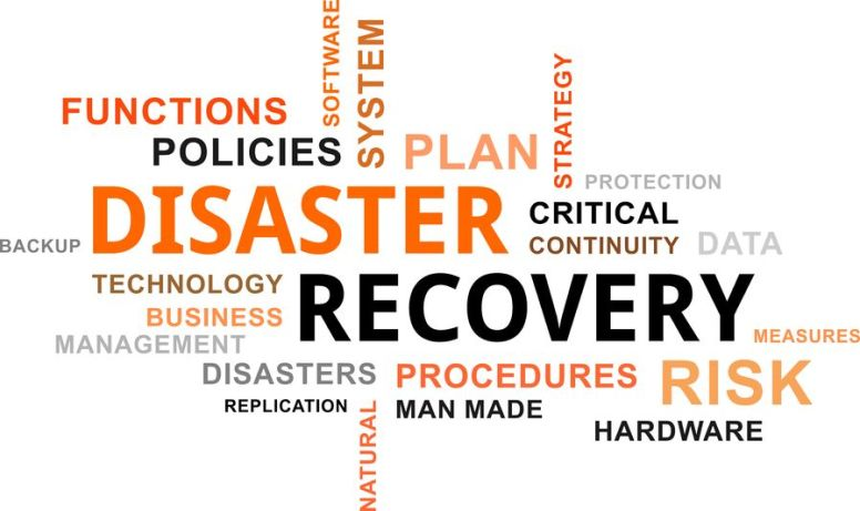 49137469 - a word cloud of disaster recovery related items